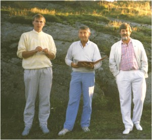 Terje Varpe (one of Ersdal's first students in Norway), Einar Svendsen, Charles Ersdal