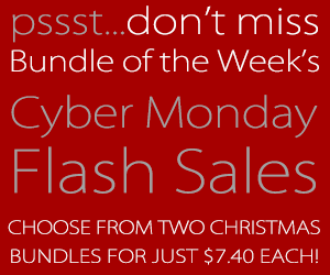 Christmas Bundle One Day Sale Preview