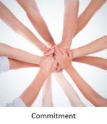 Commitment button