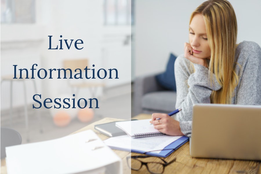 Live Information Session